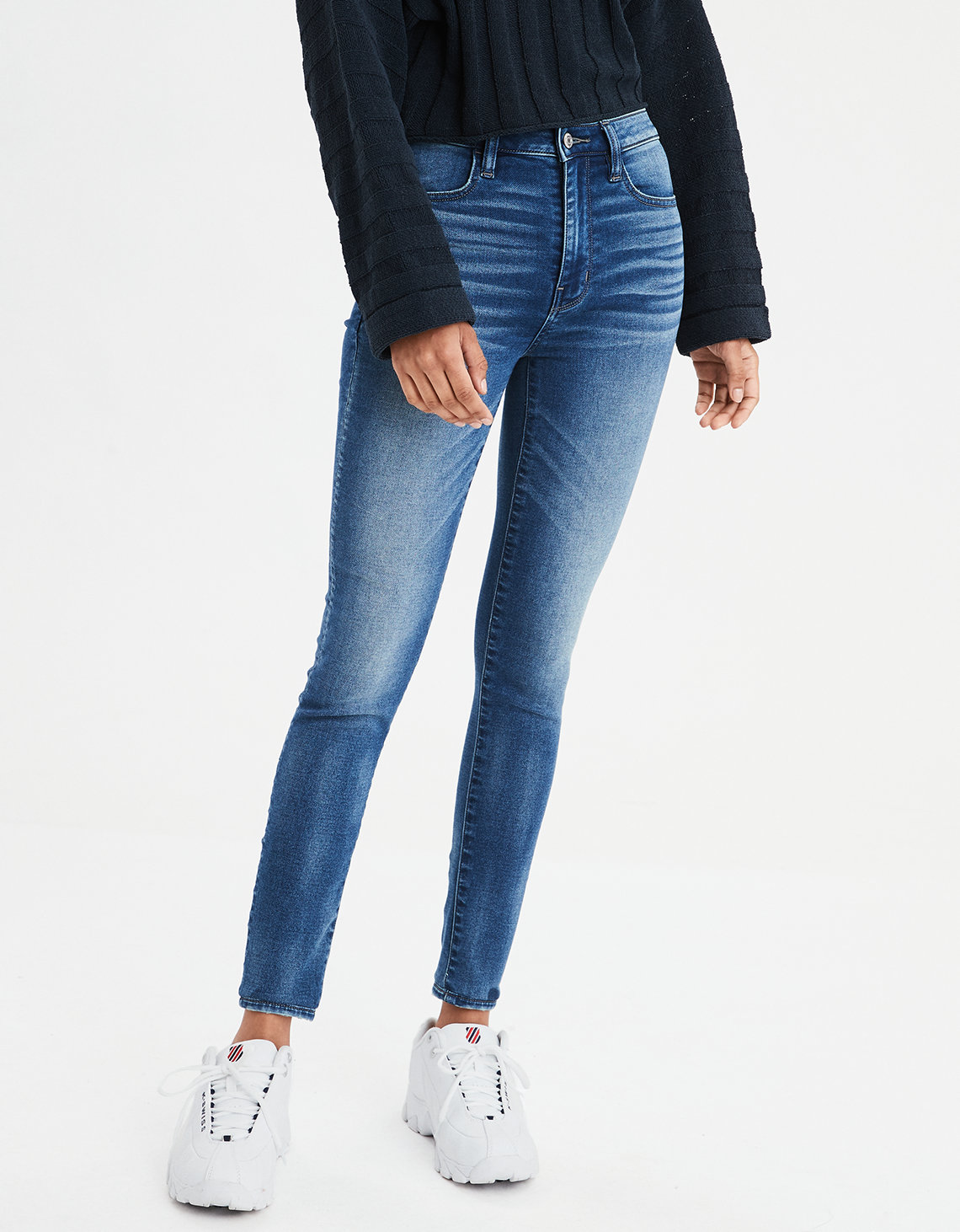 AE Super Soft Super High-Waisted Jegging