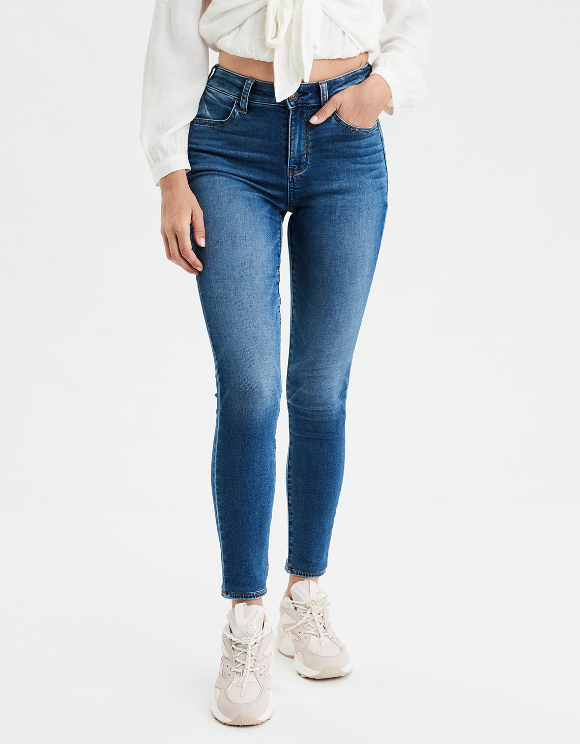 Ae Ne(X)T Level Super Soft High Waisted Jegging by American Eagle Outfitters