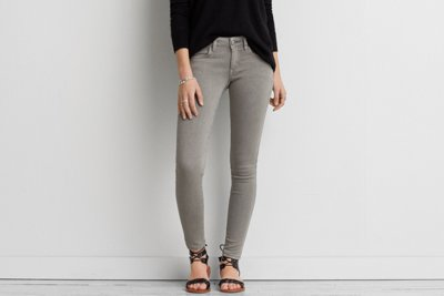 Twill X Super Low Jegging