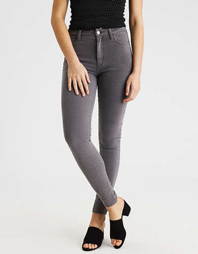 High waisted jeggings american eagle