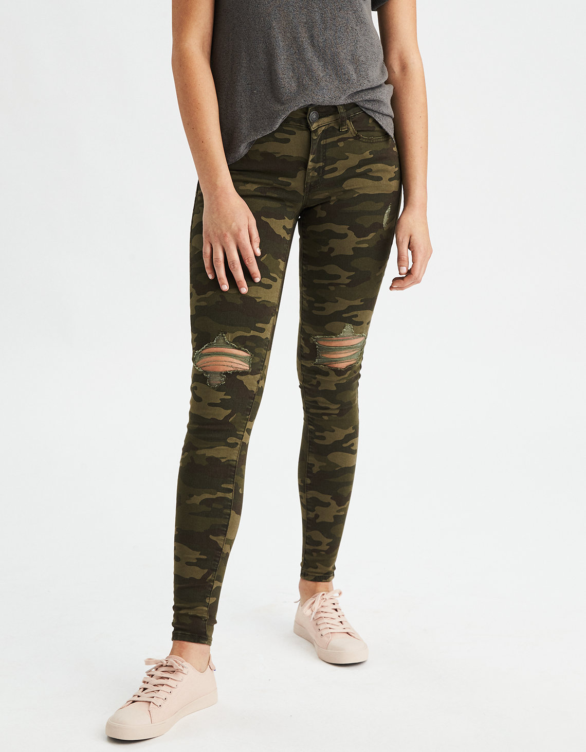 TROUSERS - Casual trousers American Outfitters