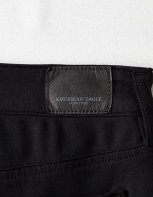 New American Eagle Womens Black Green Maroon Jegging Super Stretch Pants  00-14