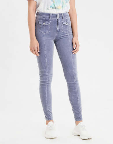 AE Super High-Waisted Corduroy Jegging Crop