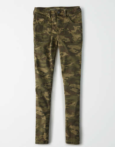 AE Ne(x)t Level High-Waisted Camo Jegging