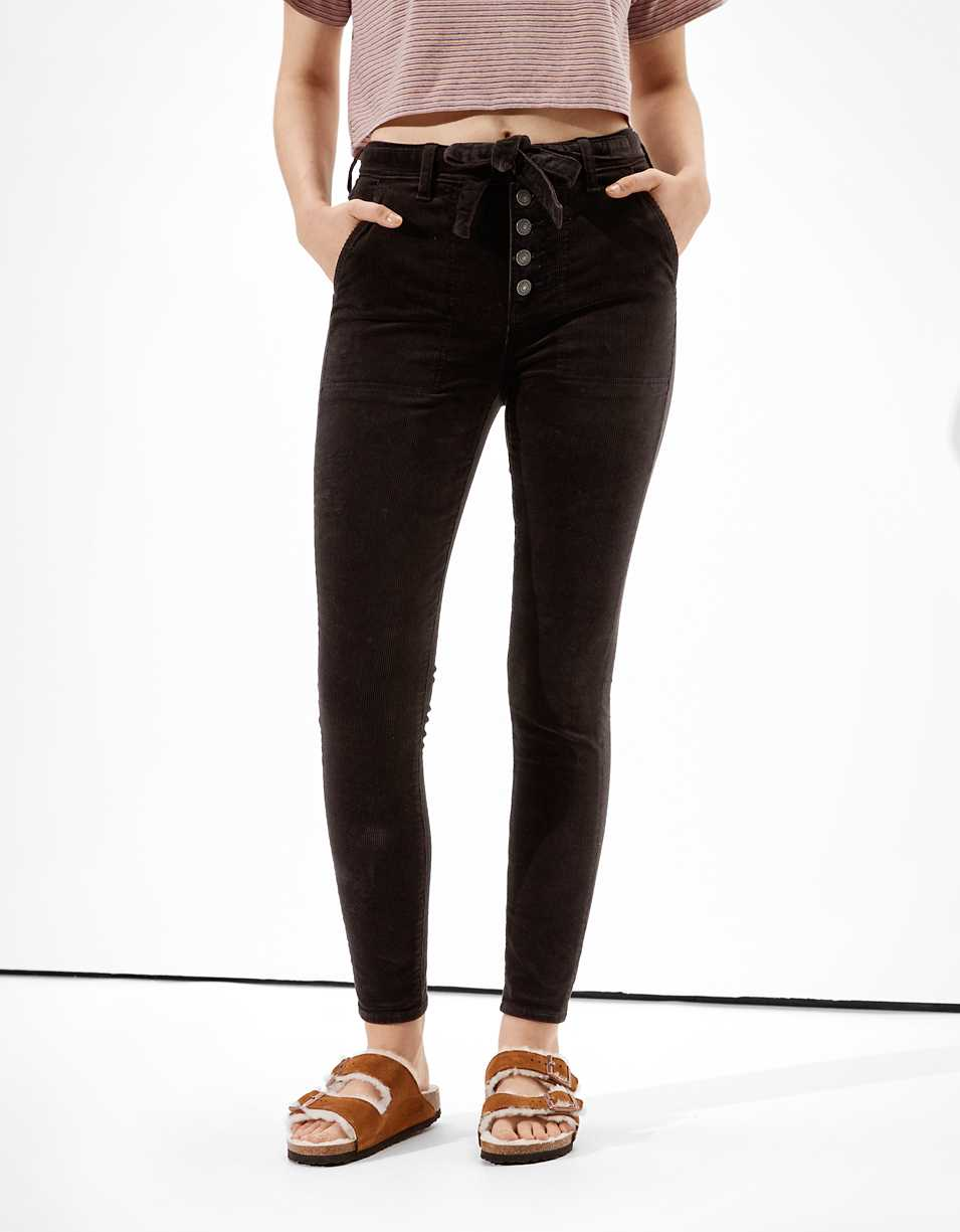 AE Super High-Waisted Corduroy Jegging