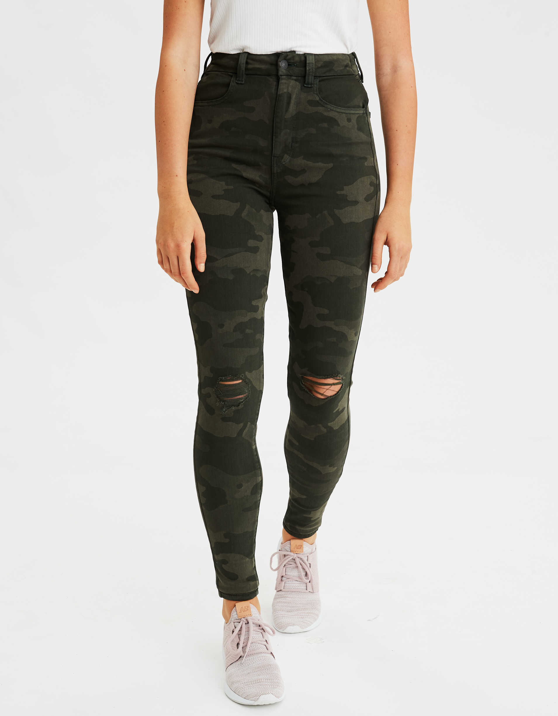 AE Curvy Super High-Waisted Jegging