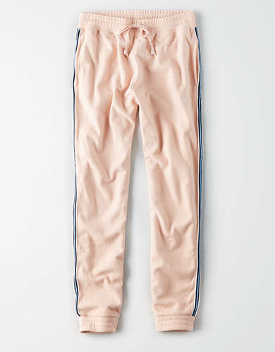 AE Fleece Stripe Jogger