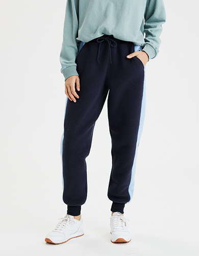 AE High-Waisted Polar Fleece Jogger