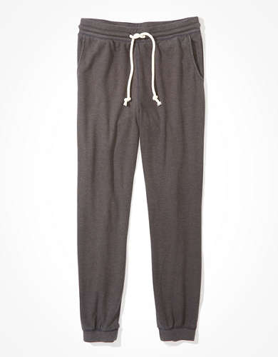 AE High-Waisted Fleece Waffle Jogger