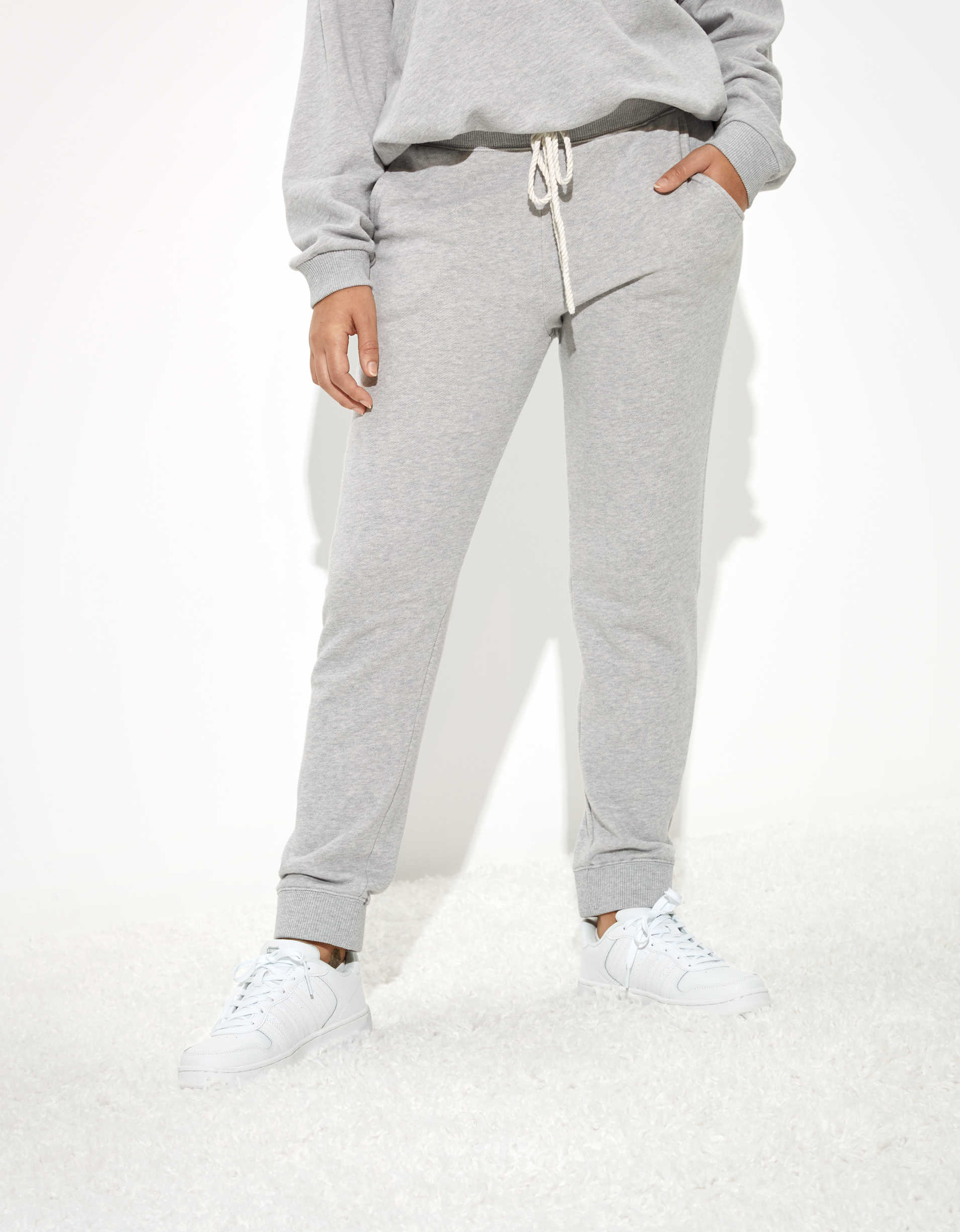 AE Fleece Slim Boyfriend Jogger