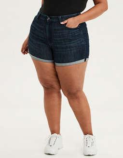 a293046cb3 Curvy Shorts · placeholder image AE Ne(X)t Level Curvy Super High-Waisted Short  Short ...