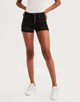 AE Ne(X)t Level Curvy Super High-Waisted Short Short