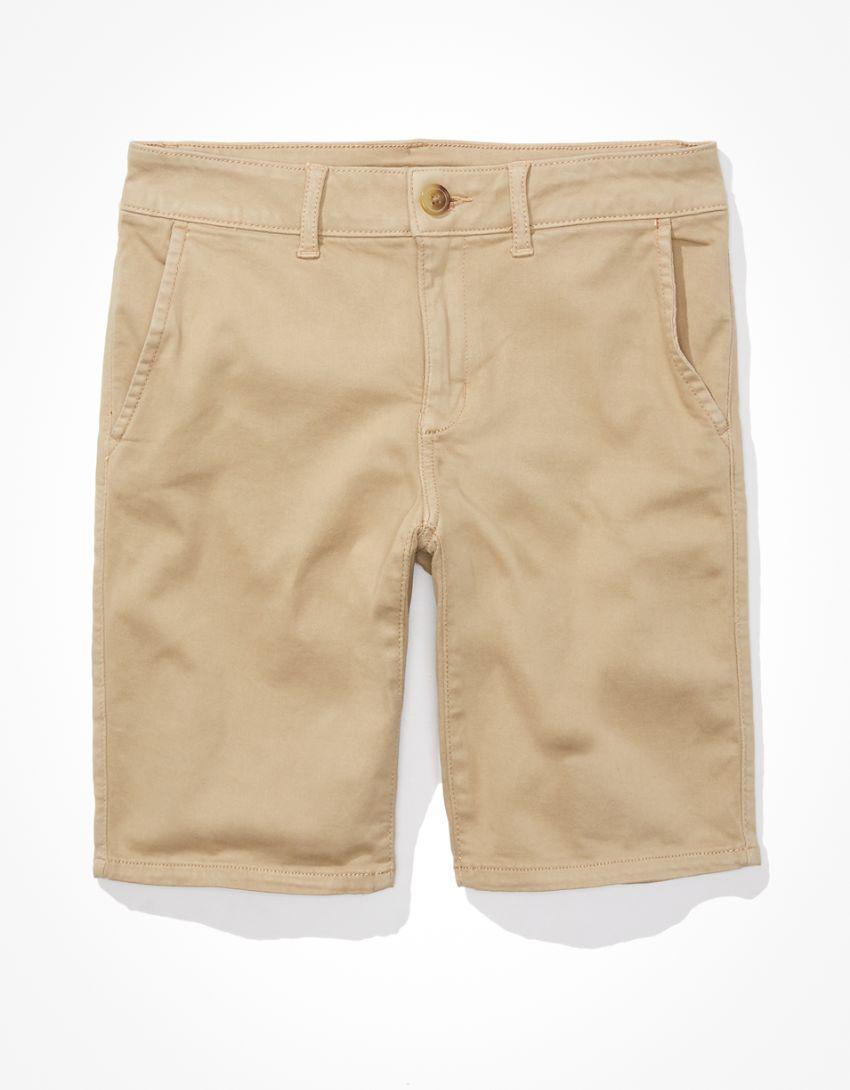 AE Khaki Bermuda Short