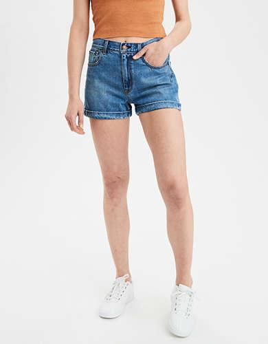 4e30369771 Denim Mom Shorts