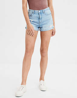 Denim Mom Shorts