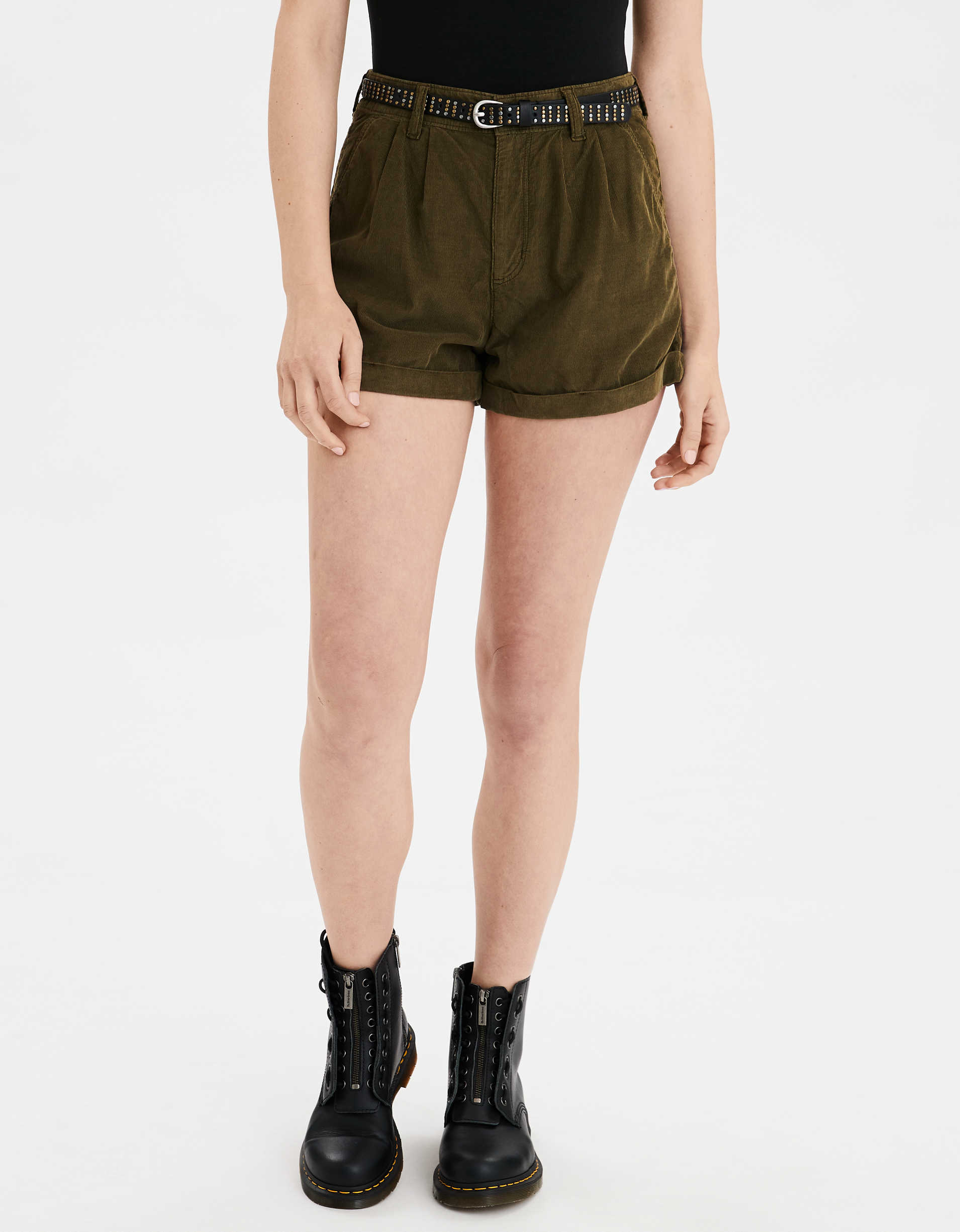 Corduroy Mom Shorts