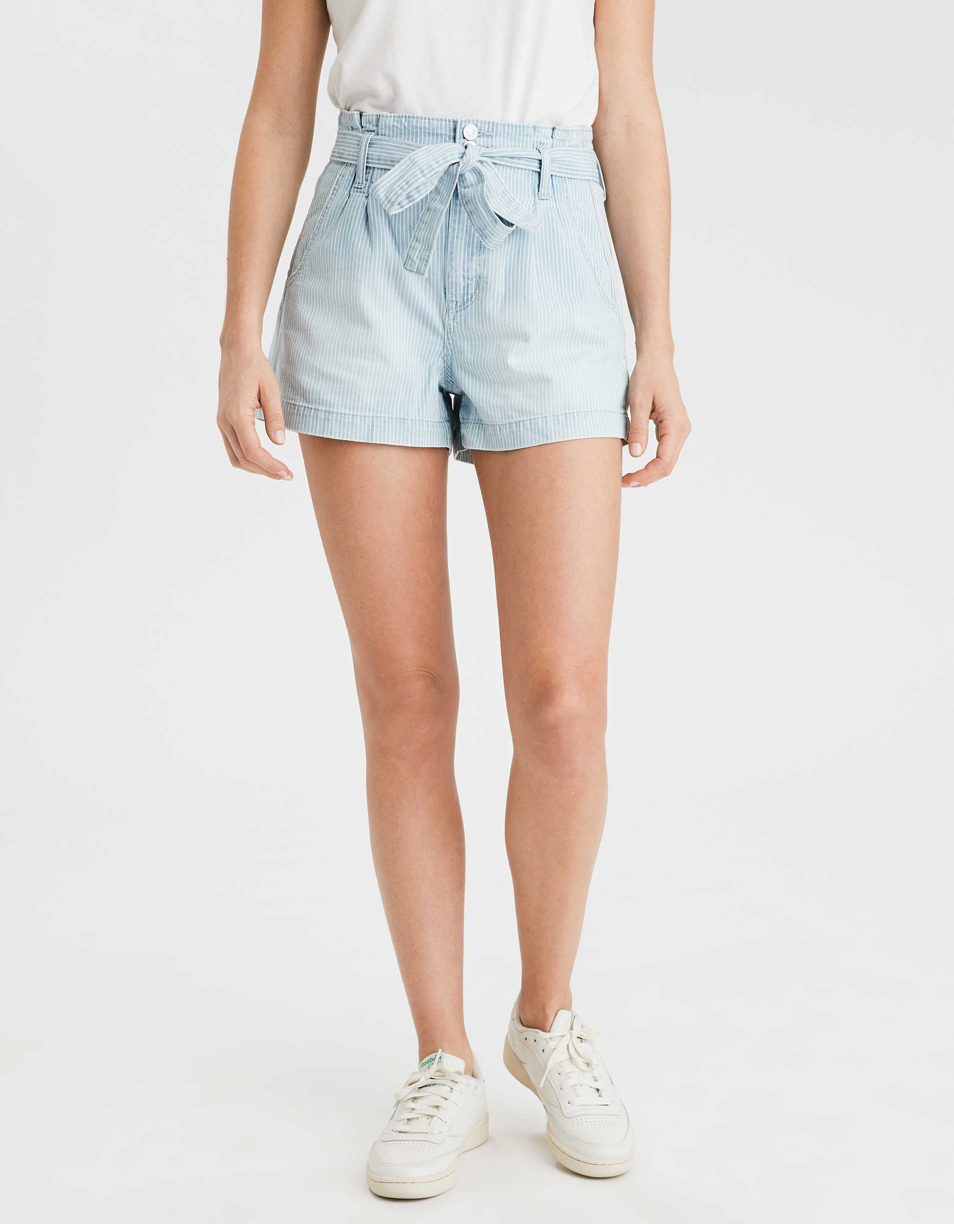 AE Denim Mom Shorts