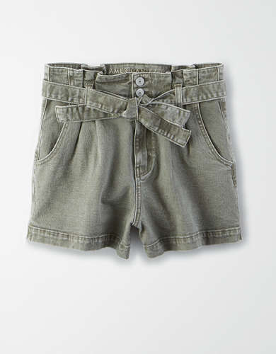 AE Paperbag Mom Shorts