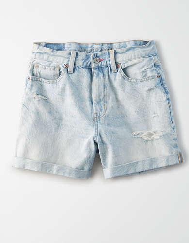 AE Pride Denim Mom Shorts