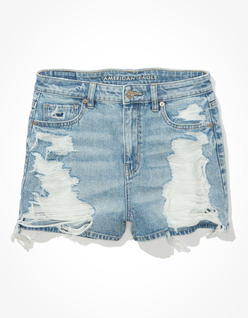AE Denim Mom Shorts