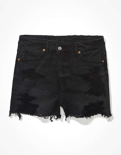 AE Crossover Denim Mom Shorts