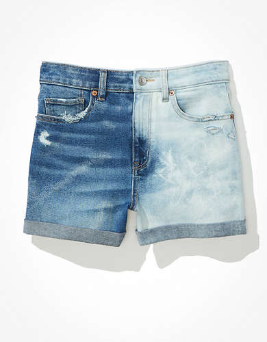 AE Stretch Denim Mom Short