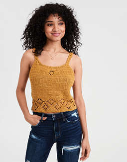 AE Crochet Sweater Tank