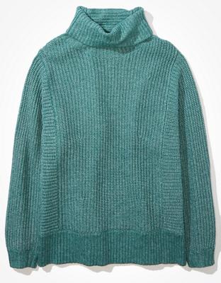 AE Oversized Dreamspun Mock Neck Sweater