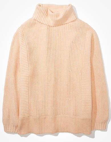 AE オーバーサイズのドリームスパン モックネック セーター