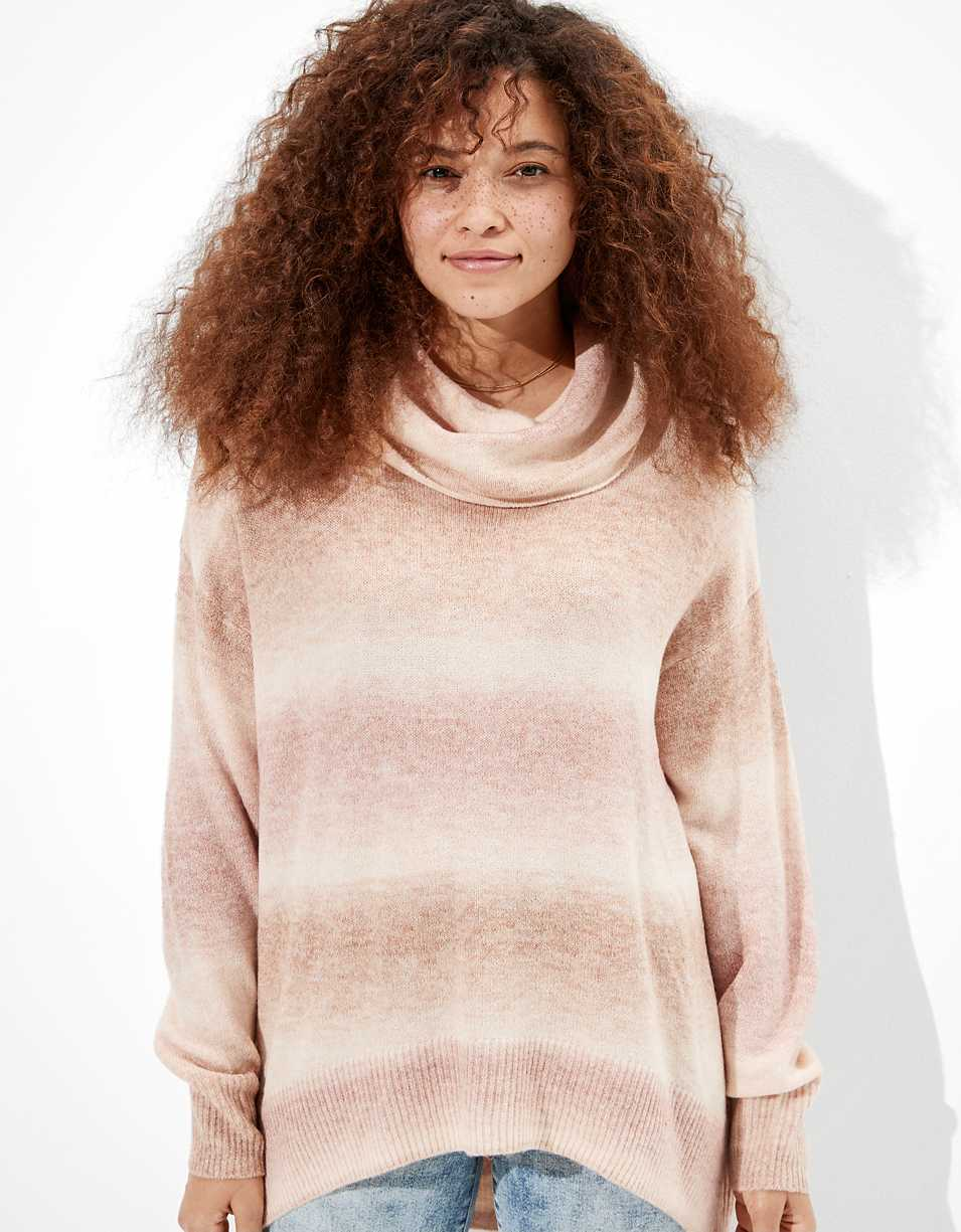 AE Oversized Dreamspun Turtleneck Sweater