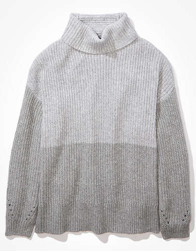 AE Oversized Dreamspun Mock Neck Sweater