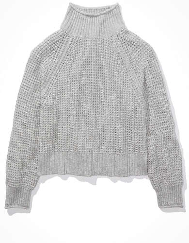 AE Dreamspun Mock Neck Sweater
