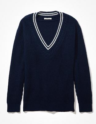 AE Oversized V-Neck Sweater