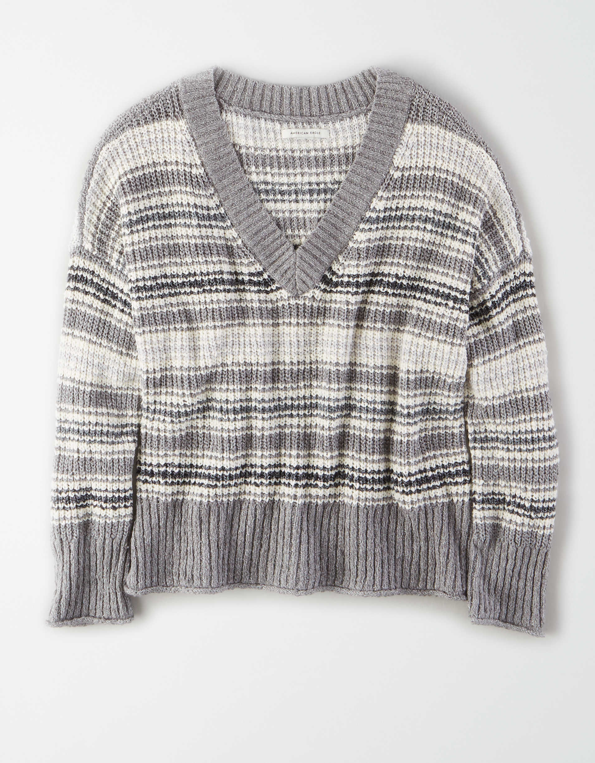 AE Slouchy V-Neck Sweater
