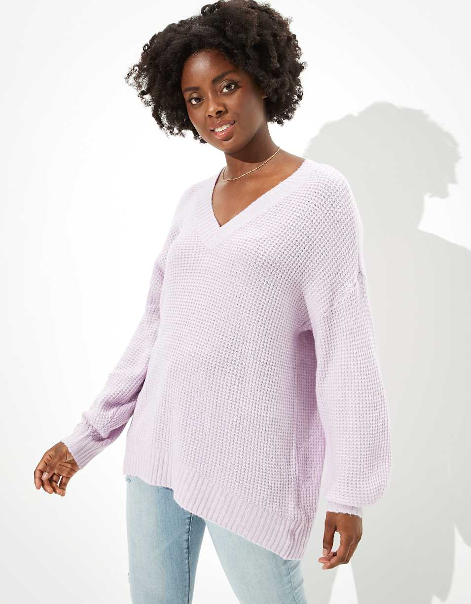 AE Oversized Dreamspun V-Neck Sweater