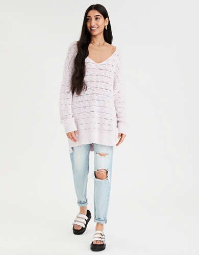 AE Oversized V-Neck Sweater