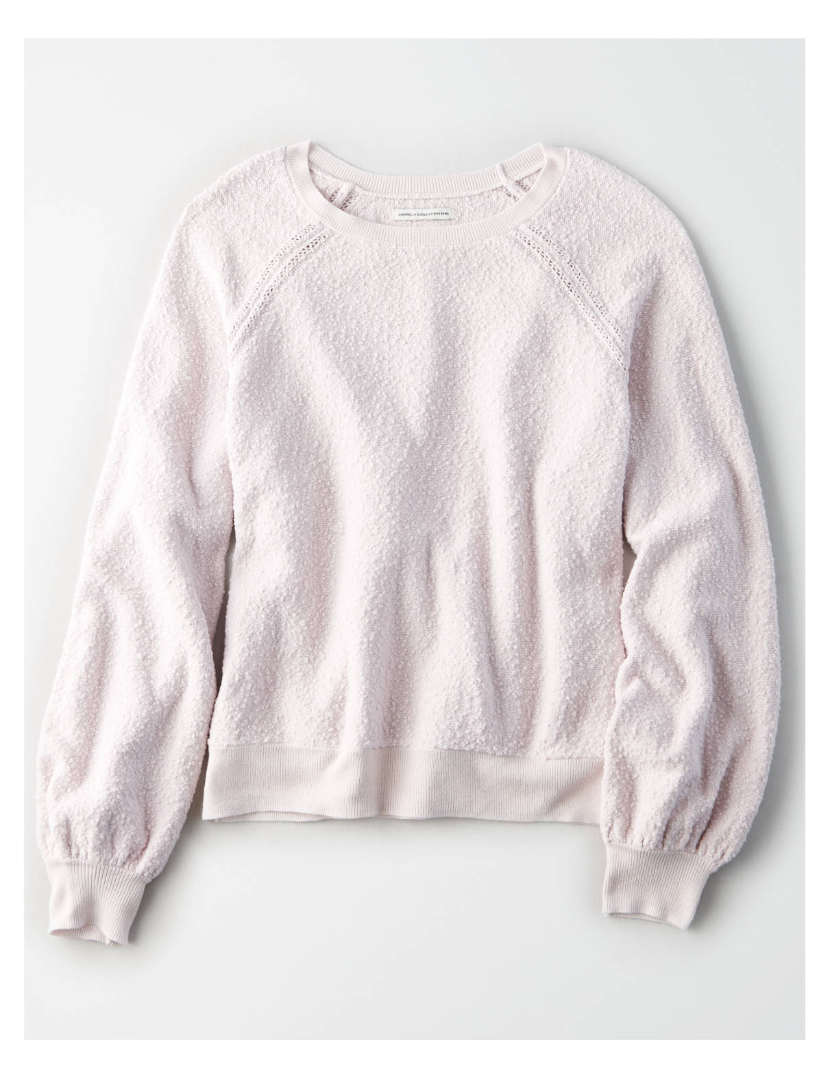 Display product reviews for AE Boucle Balloon Sleeve Pullover Sweater
