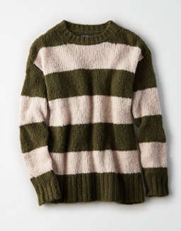 Ae Rugby Stripe Pullover Sweater by American Eagle Outfitters