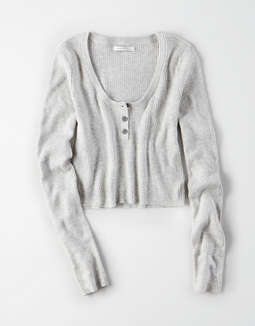 Ae Scoop Neck Bodycon Pullover Sweater by American Eagle Outfitters