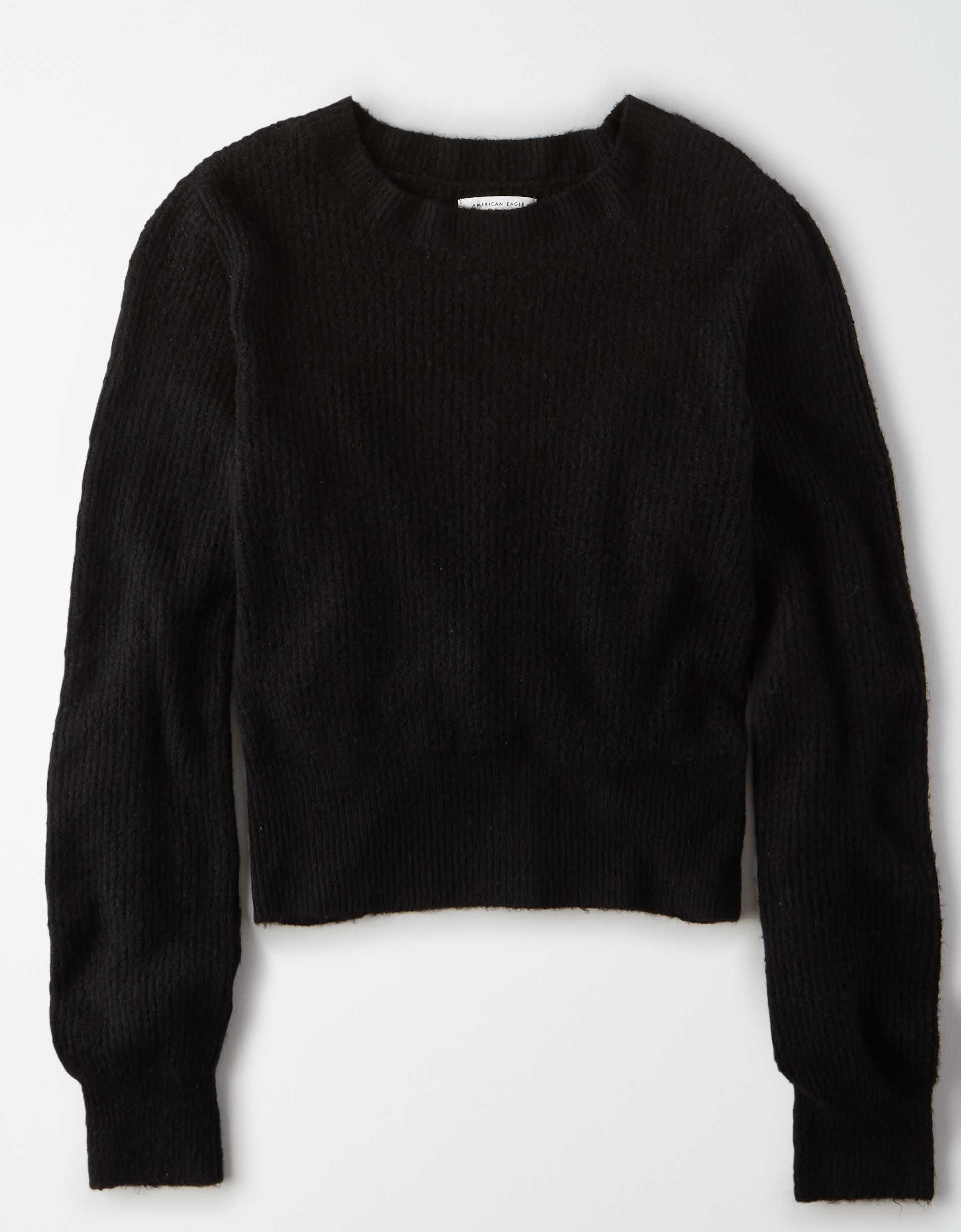 AE Balloon Sleeve Crew Neck Sweater
