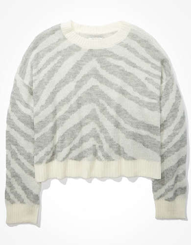 AE Tiger Crew Neck Sweater