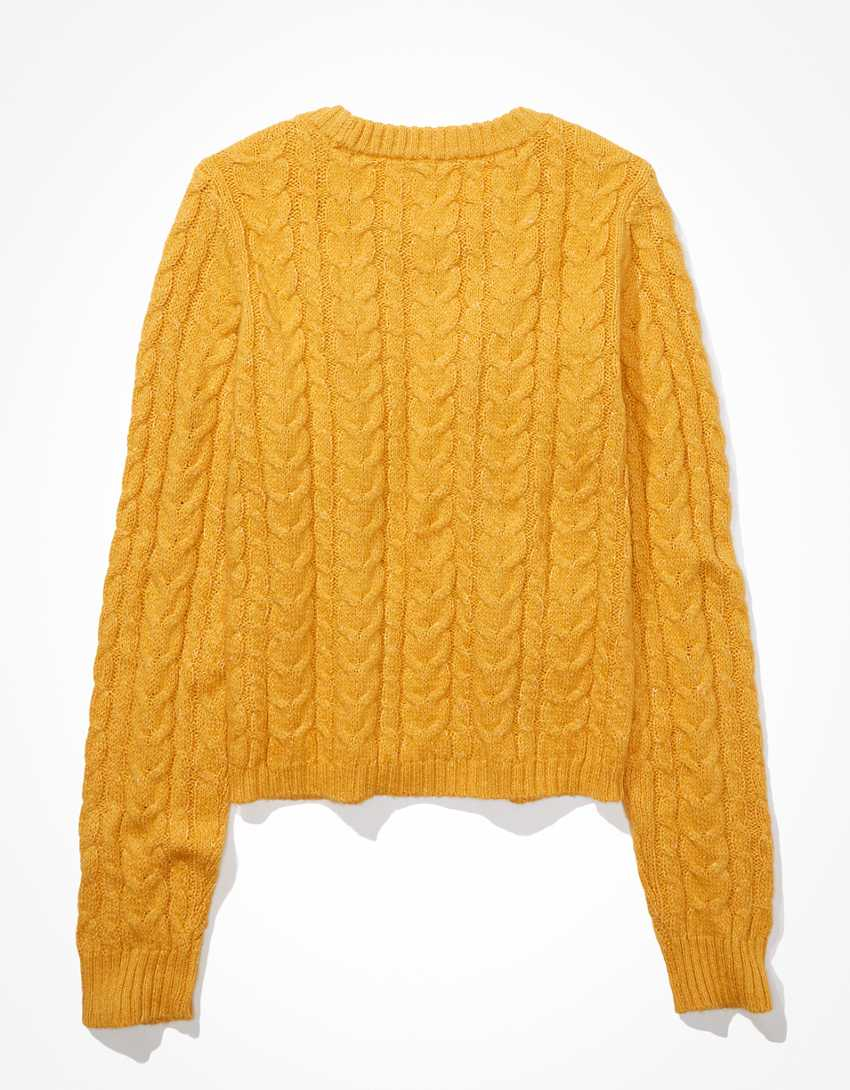 AE Cable High-Rise Sweater