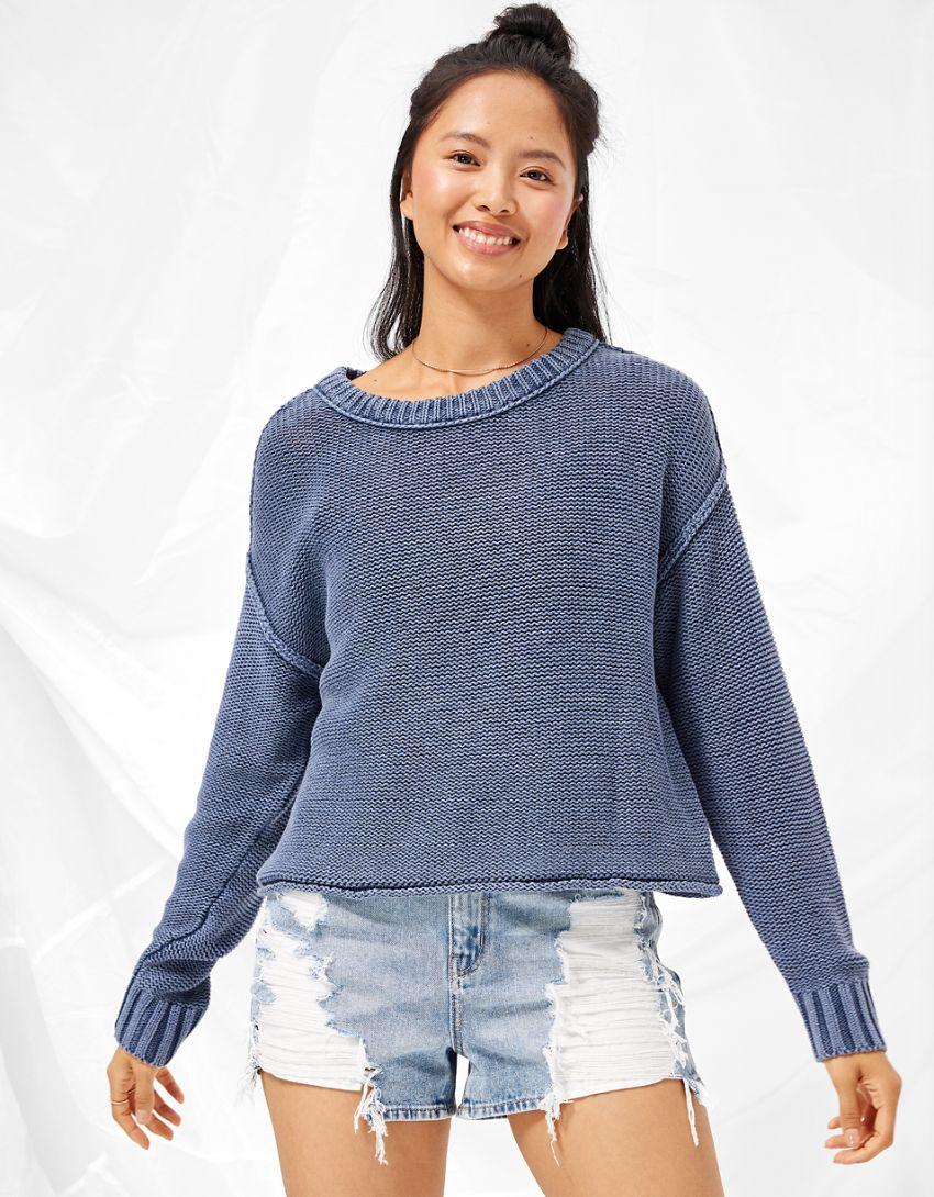 AE Easy Crew Neck Sweater
