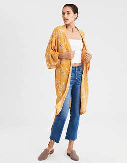 Ae Sash Kimono by American Eagle Outfitters