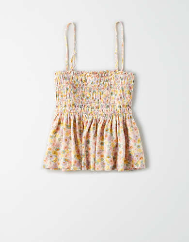 AE Smocked Tank Top