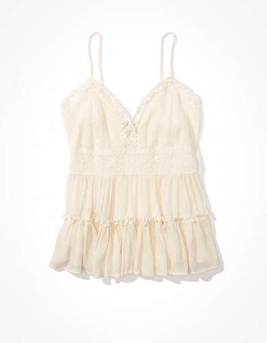 AE Lace Tiered Cami