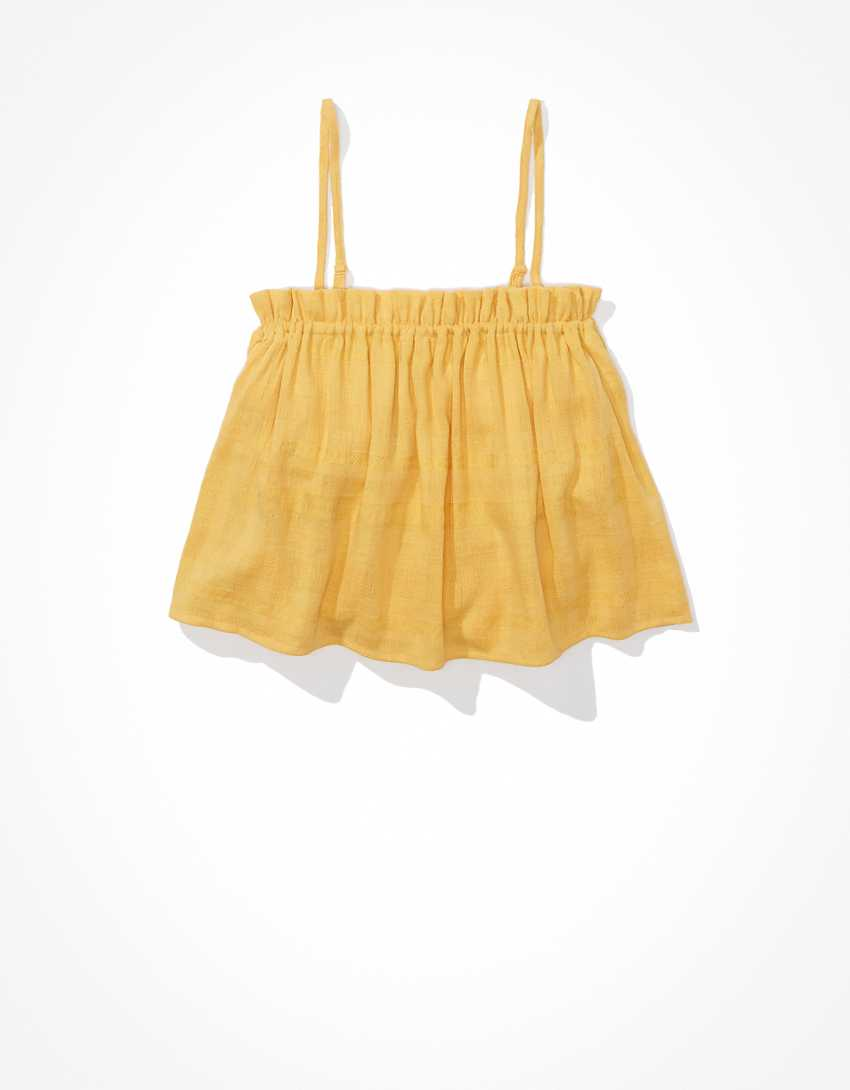 AE Button-Up Tube Top