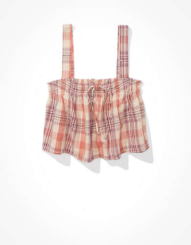 AE Plaid Swing Cami