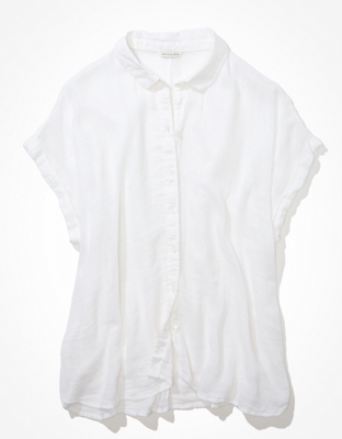 AE Short-Sleeve Button-Up Shirt