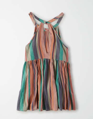AE Striped Tunic Tank Top
